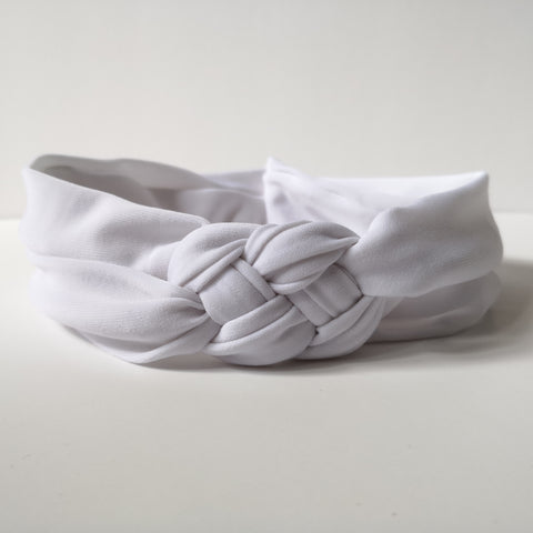 White Nautical Headband | Nautically Inspired