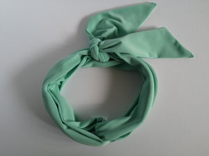 Long Headband Hair Scarf in Mint