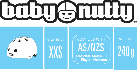 Baby Nutty XXS Weight and Size Information