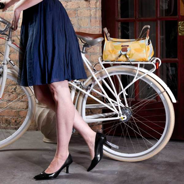 Feathers Bike & Day Handbag