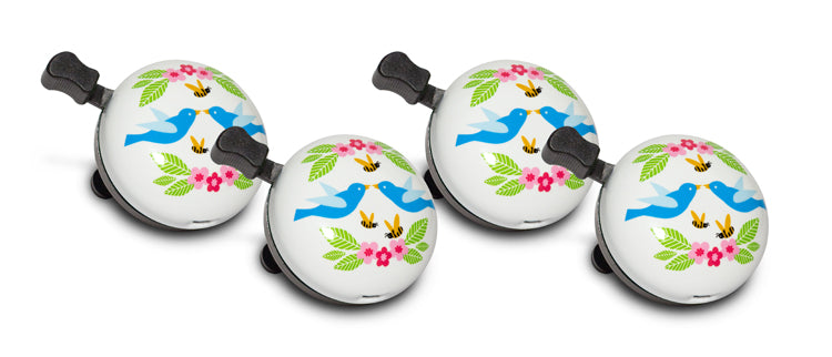 Nutcase Birds & Bees Bell - Family 4-Pack