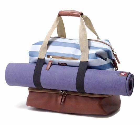 Midway Weekender Gym/Yoga Travel Bag - Sky Stripes