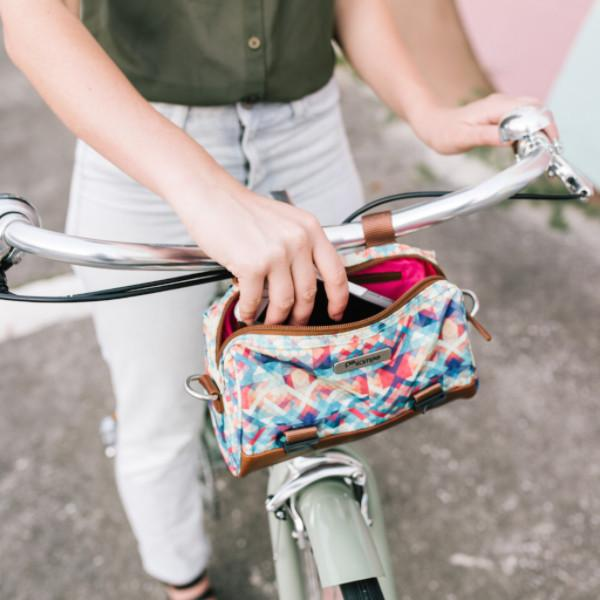 Kinga Handlebar Bag - Bubbles