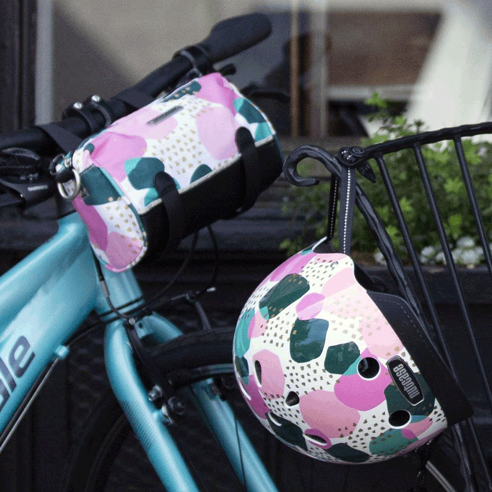 Kinga Handlebar Bag - Pebbles