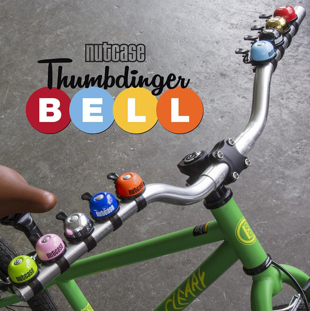 Thumbdinger Bell Brass Bling (Family 4 Pack)