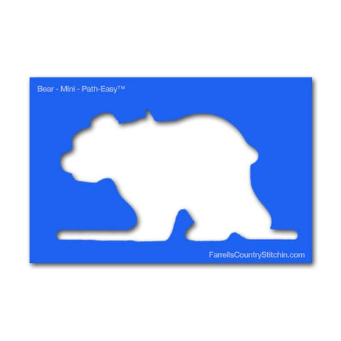 Image of Bear - Mini - Path Easy™ - 1/4 Inch Path Width - 1/8 Inch Thick