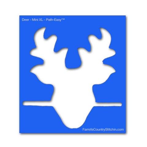 Image of Deer - Mini XL - Path Easy™ - 1/4 Inch Path Width - 1/8 Inch Thick