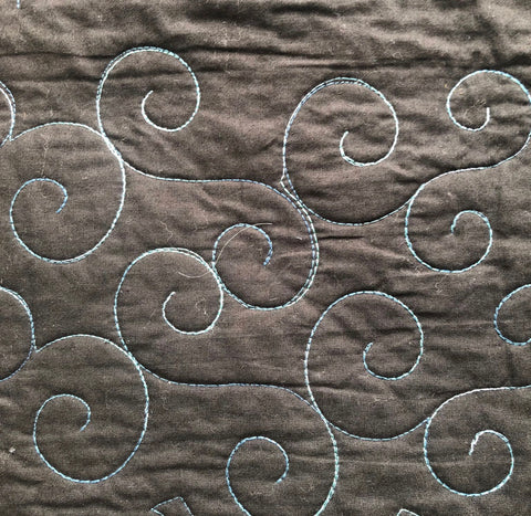 Image of Swirls - Mini  - Path Easy™ - 1/4 Inch Path Width - 1/8 Inch Thick