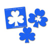 Shamrock - Nested - 1/8 Inch thick
