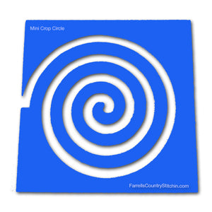 Crop Circle - Mini - Path Easy™ 1/4 Inch Path Width - 1/8 Inch Thick
