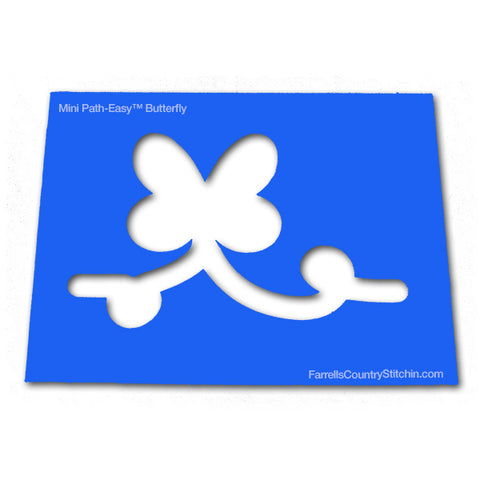 Butterfly - Mini - Path Easy™ - 1/4 Inch Path Width - 1/8 Inch Thick