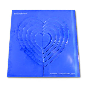 Nested - Hearts - 1/8 Inch Thick
