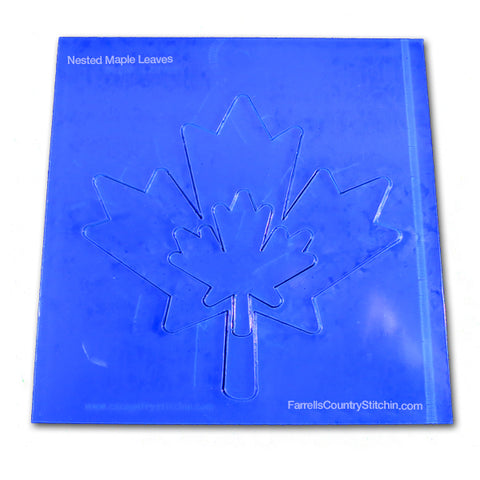 Nested - Maple Leaves - 1/8 Inch Thick