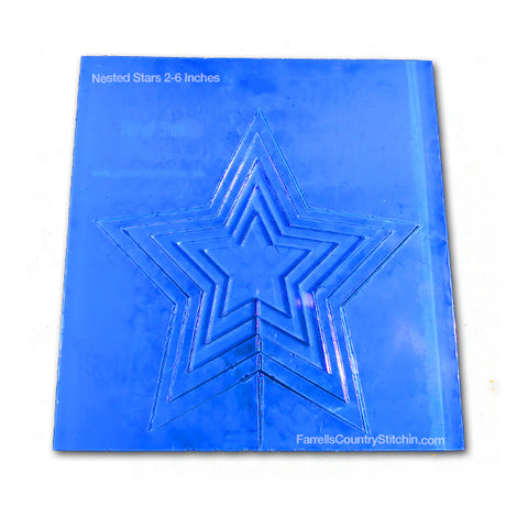 Nested - Stars - Mini - 1/8 Inch Thick