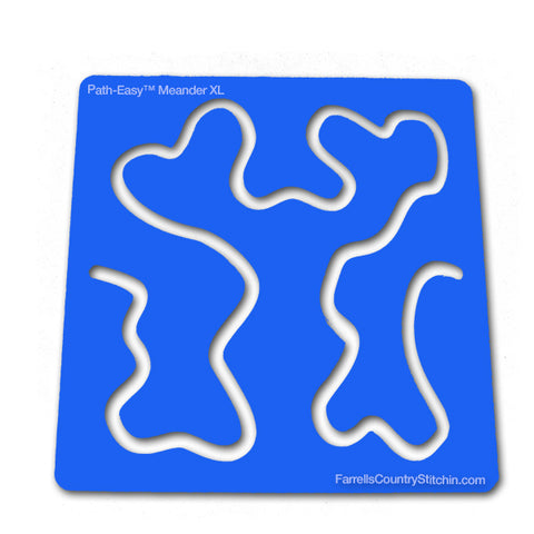 Meander - Mini XL - Path-Easy™ 1/4 Inch Path Width - 1/8 Inch Thick