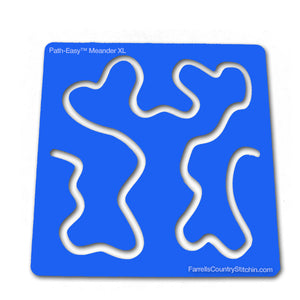 Meander - Mini XL - Path Easy™ - 1/4 Inch Path Width - 1/8 Inch Thick