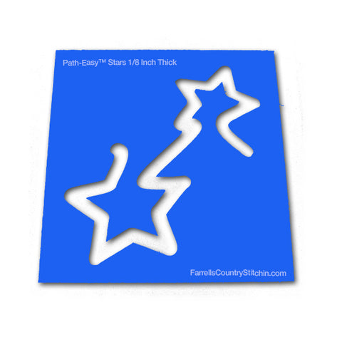 Stars - Classic - Path Easy™ - 1/2 Inch Path Width - 1/8 Thick