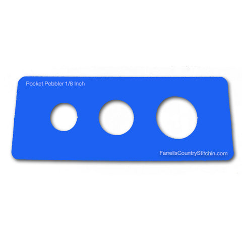 Pocket Pebbler II - Stones - Classic - 1/8 Inch Thick