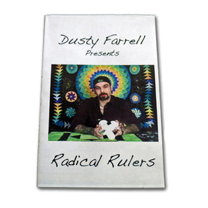 Dusty's Radical Rulers Set w/ DVD - Longarm - 1/4 Inch Thick