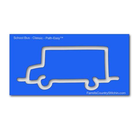 School Bus - Classic - Path Easy™ - 1/2 Inch Path Width - 1/8 Inch thick