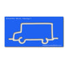 School Bus - Mini XL - Path Easy™  - 1/4 Inch Path Width - 1/8 Inch Thick