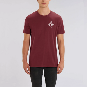 Unisex Trail Treader Badge Organic T-Shirt