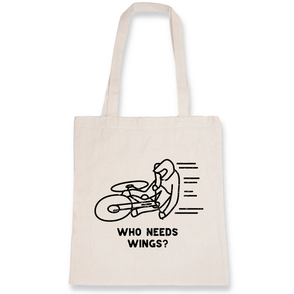 Who Needs Wings? Tote Bag