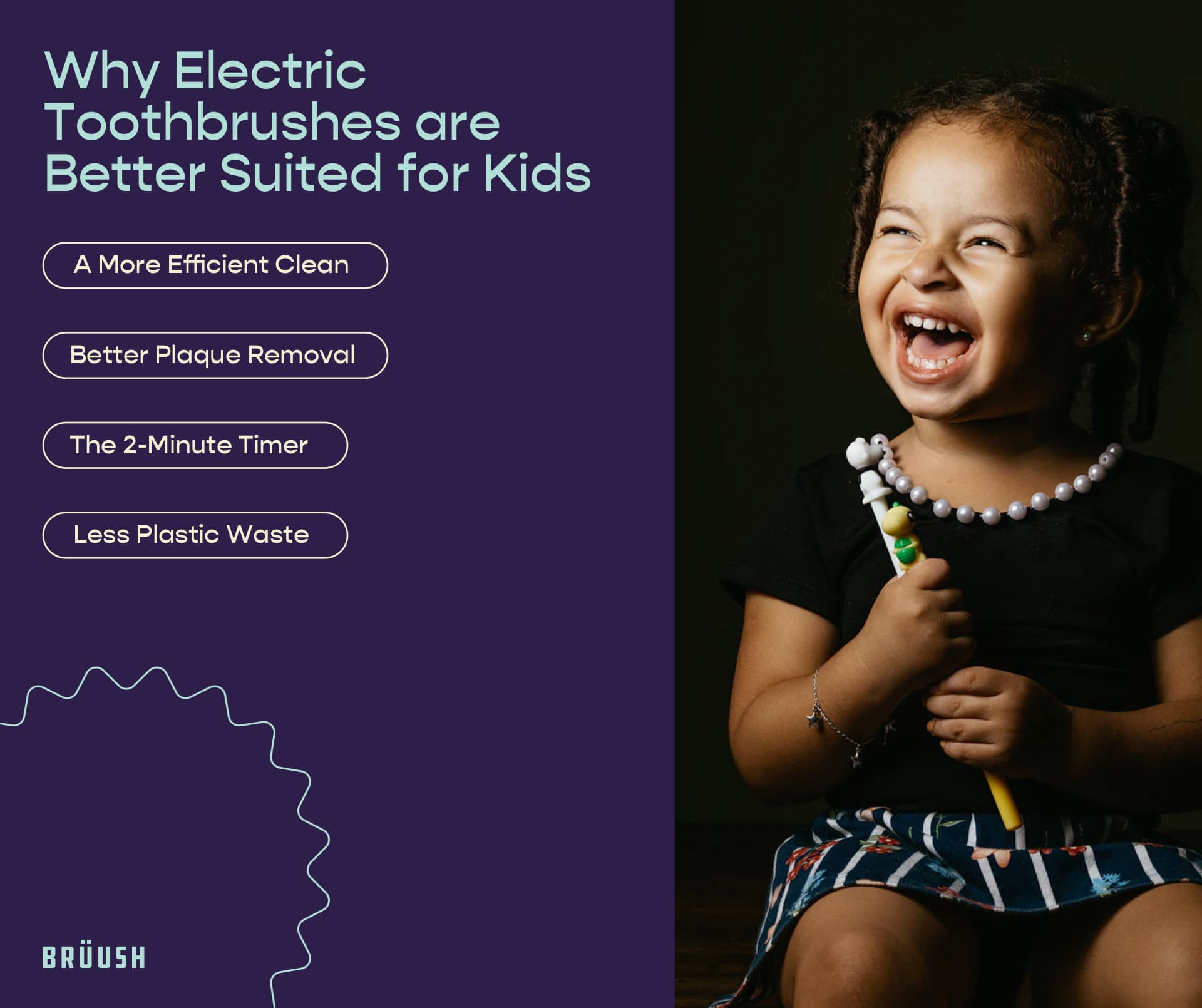 why electric toothbrushes are better suited for kids