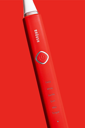 PRE-SALE: Red Electric Toothbrush