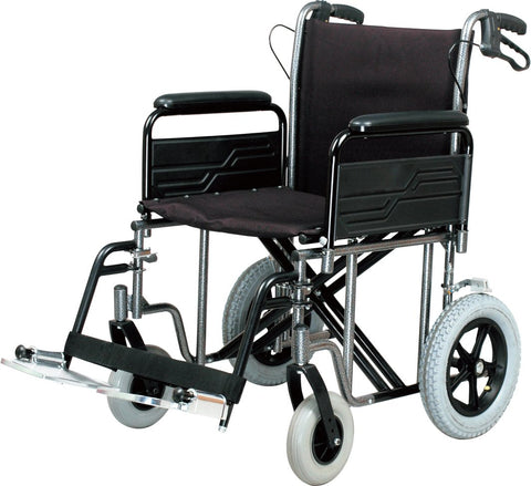 Roma Extra Wide Heavy Duty Transit Wheelchair