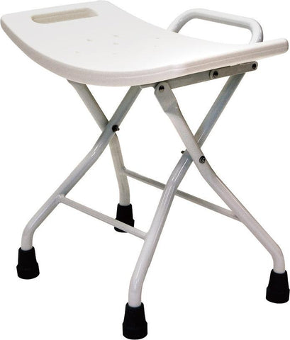 Roma Aluminium Folding Shower Stool