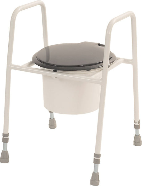 Roma Economy Height Adjustable Toilet Seat & Frame