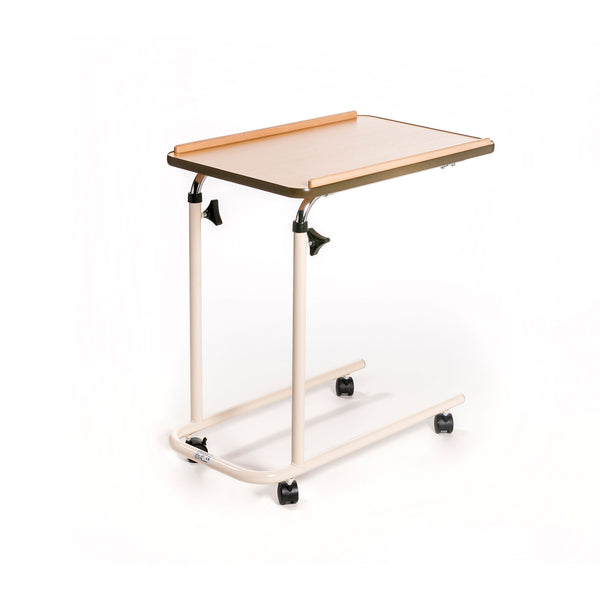 Roma Overbed Table - Split Legs with Castors
