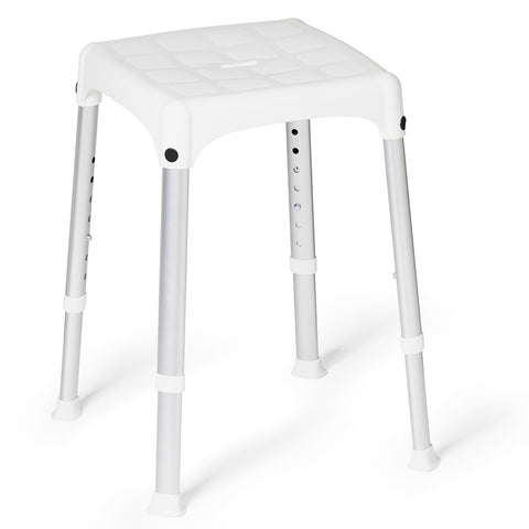 Bath & shower stool - square adjustable