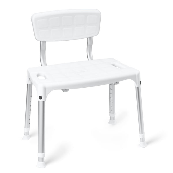 Bath & shower seat - with backrest