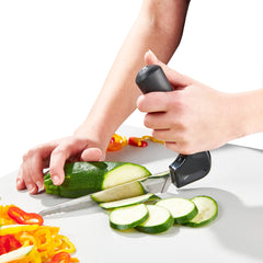 Vegetable knife - ergonomic