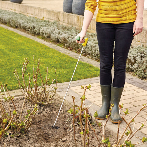 Garden hoe - ergonomic large