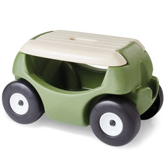 Garden seat - with wheels