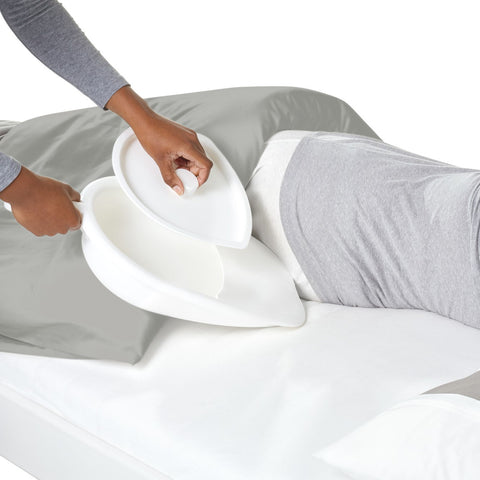 Bedpan - with lid