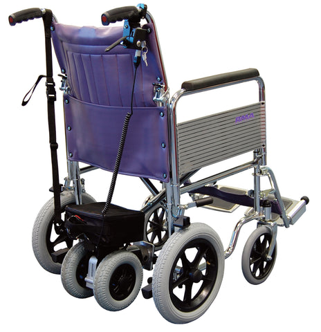 Roma Power Pack on Wheelchair