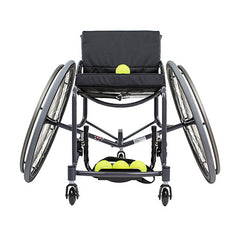 Front View of the Tennis Wheelchair