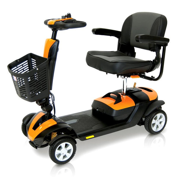 The Roma Denver Electric Mobility Scooter in Orange