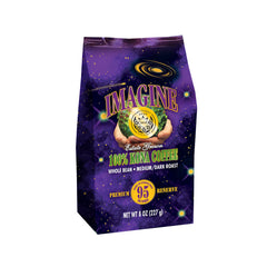 Kona Coffee Beans by Imagine - 100% Kona Hawaii - Medium Dark Roast Whole Bean 8 oz Bag
