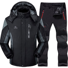 Load image into Gallery viewer, Sets Super Warm Waterproof Windproof Snowboard Fleece Jacket+pant