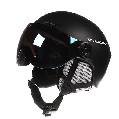 Goggles Skiing Helmet Integrally-Molded PC+EPS CE Certificate