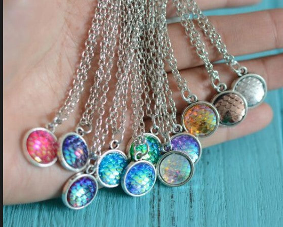 Mermaid Scale Necklaces