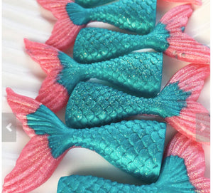 Mermaid Tail Soap - Pink Fins