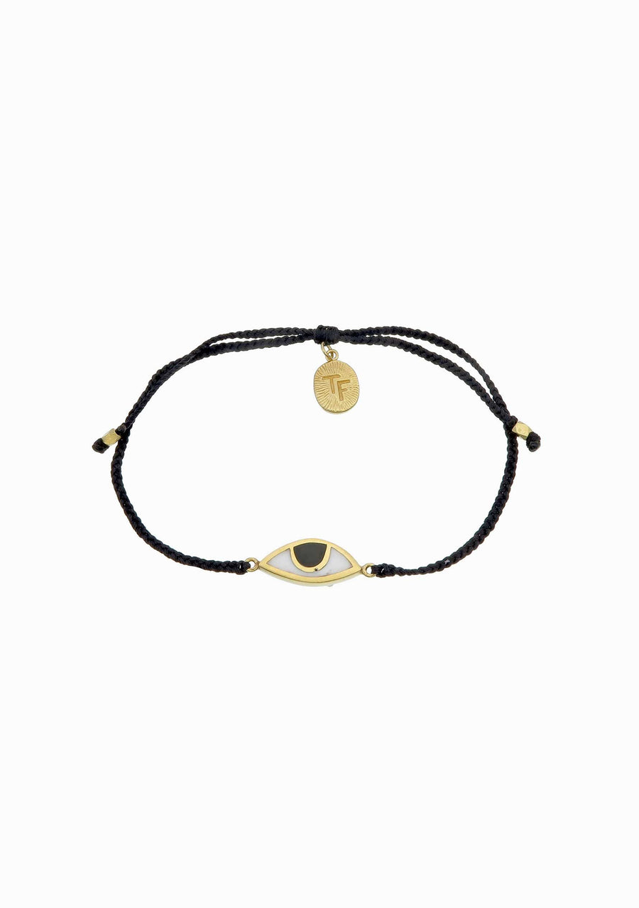 TIGER FRAME Eye Black Bracelet