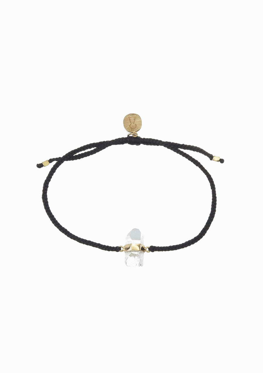 TIGER FRAME Black Quartz Bracelet