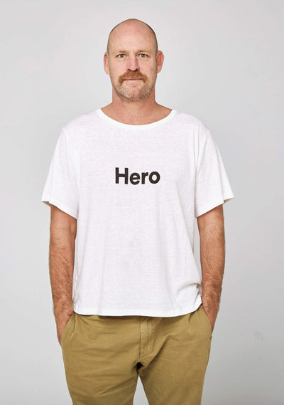 Hero Tee White - Auguste The Label